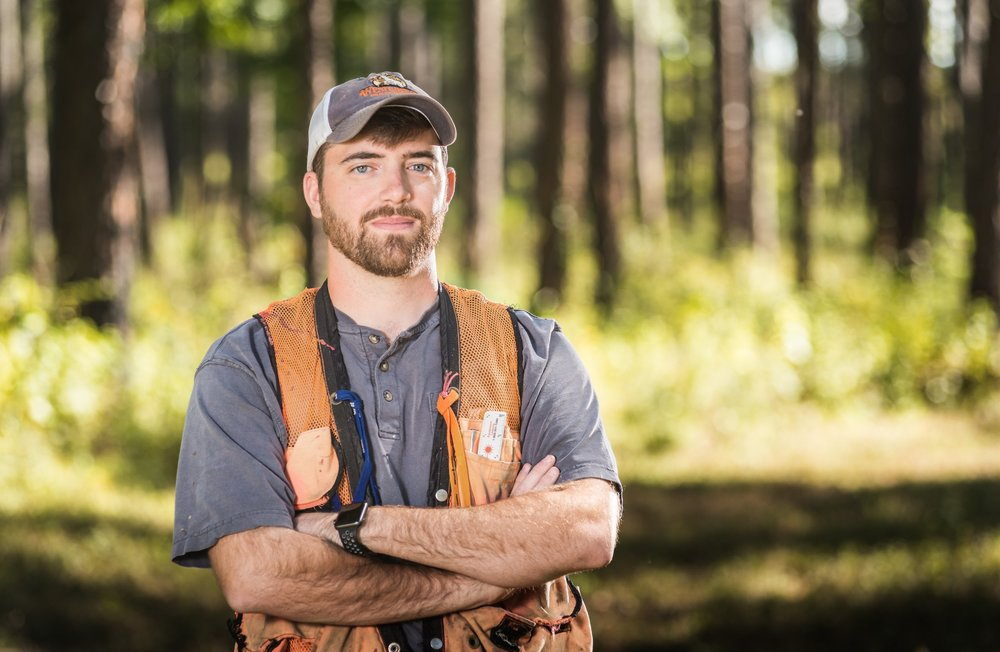 professional forester - Professional foresters guide the decisions and policies related to forest land management. The job requires special qualifications.
