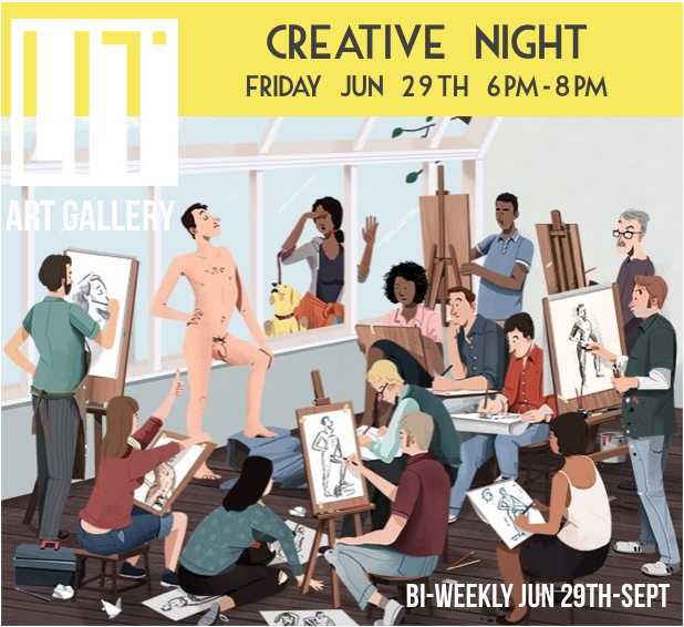 Creative Nights - Get your creative pants on...or off..whichever applies