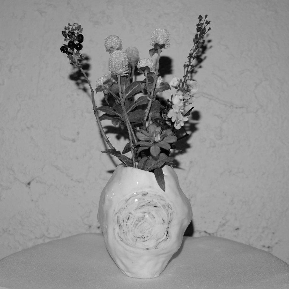 Ghost Bud Vase $28