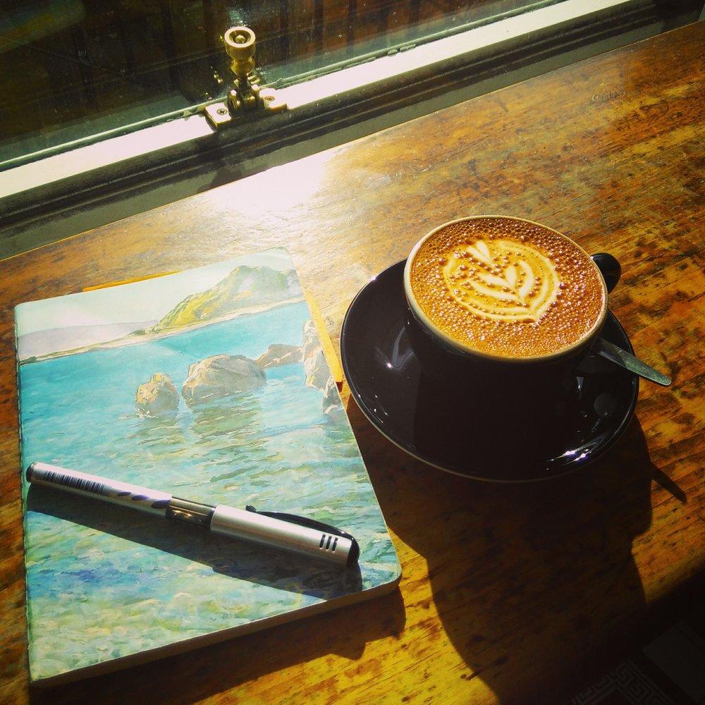 I also like to write... -