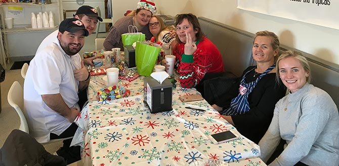 Howdy SLC Employee Christmas Breakfast