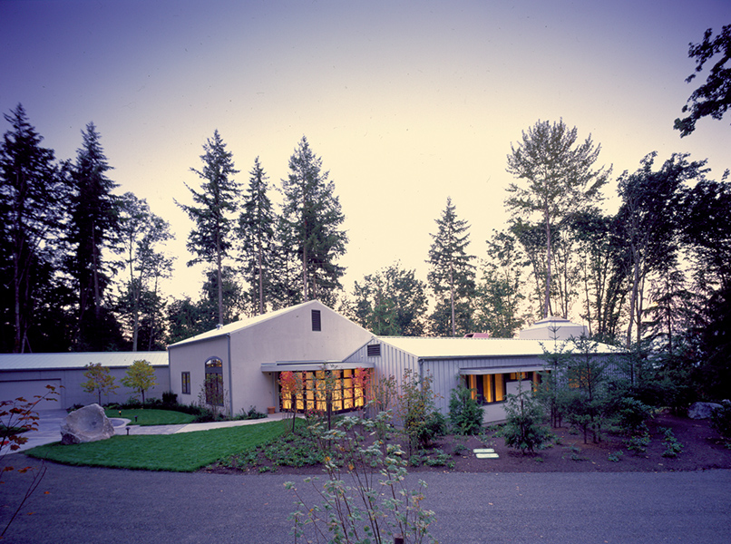 1992–1995 - Lane Williams Architects opens its doors, located in the lower level of Lane's home, and Lane is joined by the first of his many intern architects. The first completed design by Lane Williams Architects is honored with an AIA/Seattle Times Home of the Year Award in 1993, followed by another in 1995. The winning project is featured on the cover of Pacific Magazine, one of several cover stories featuring our work in regional publications.Photo: Raye Street House, 1995