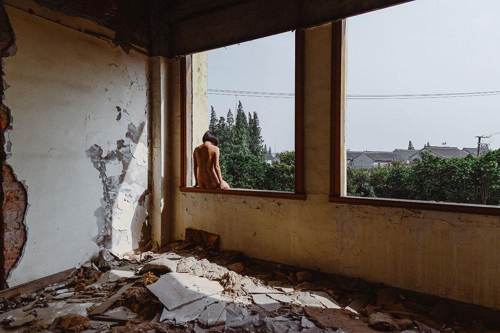 宋沭阳,选自《镜子》系列, 2015-2018年。图片由艺术家提供。