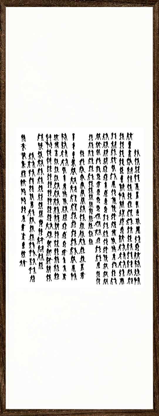 周一辰&陈晓,《对话II》, 2013年。图片由艺术家提供。