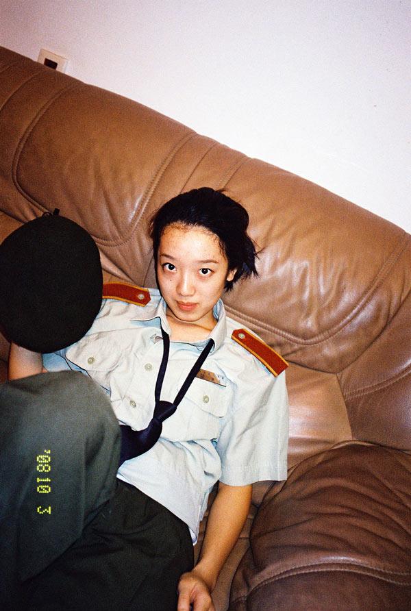 戴建勇,《20081003》,2008年,选自《朱凤娟(2008-2015)》系列。图片由艺术家提供。