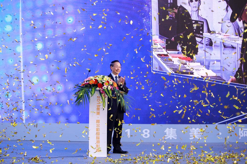 中共集美区委书记李钦辉先生