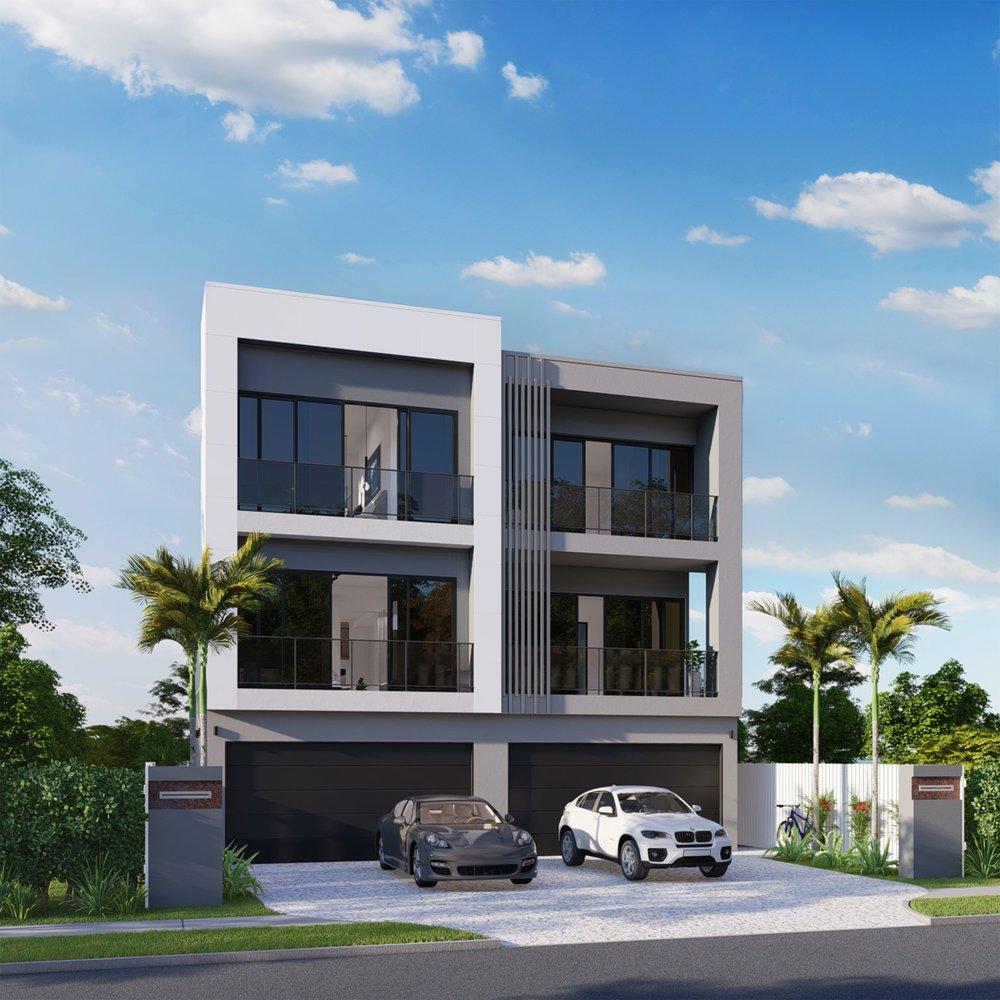 Gold Coast Highway Duplex