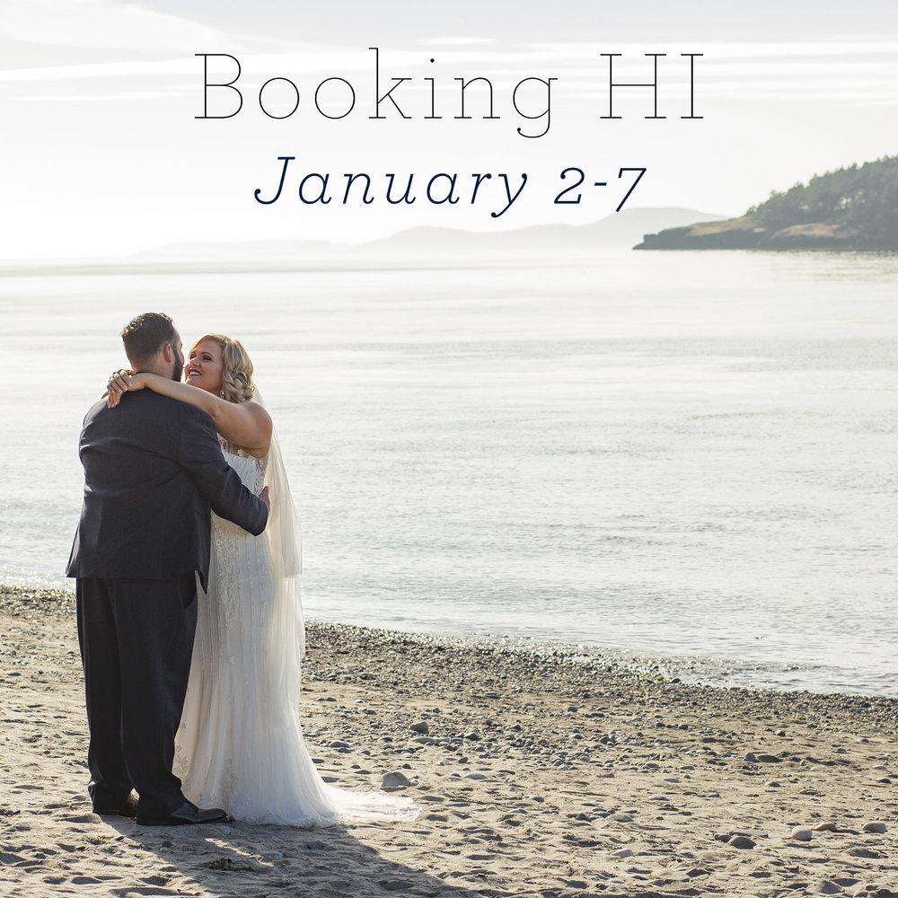 Booking hawaii january 2 7 2018 50 states 50 weeks 50 weddings hawaii wedding photographers junglespirit Images