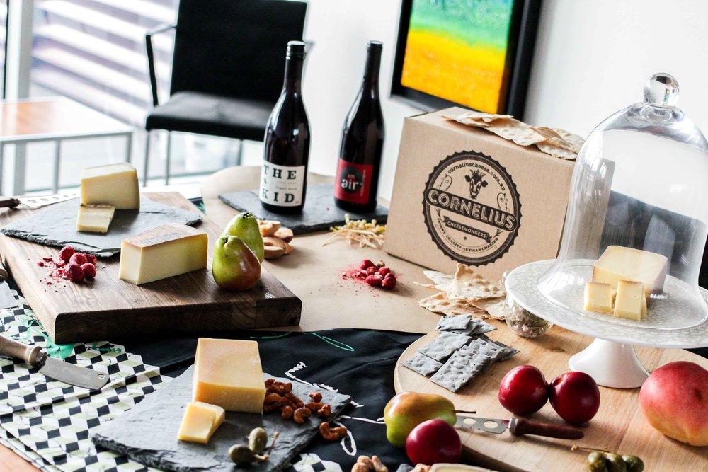Christmas Cheese Gift Boxes -