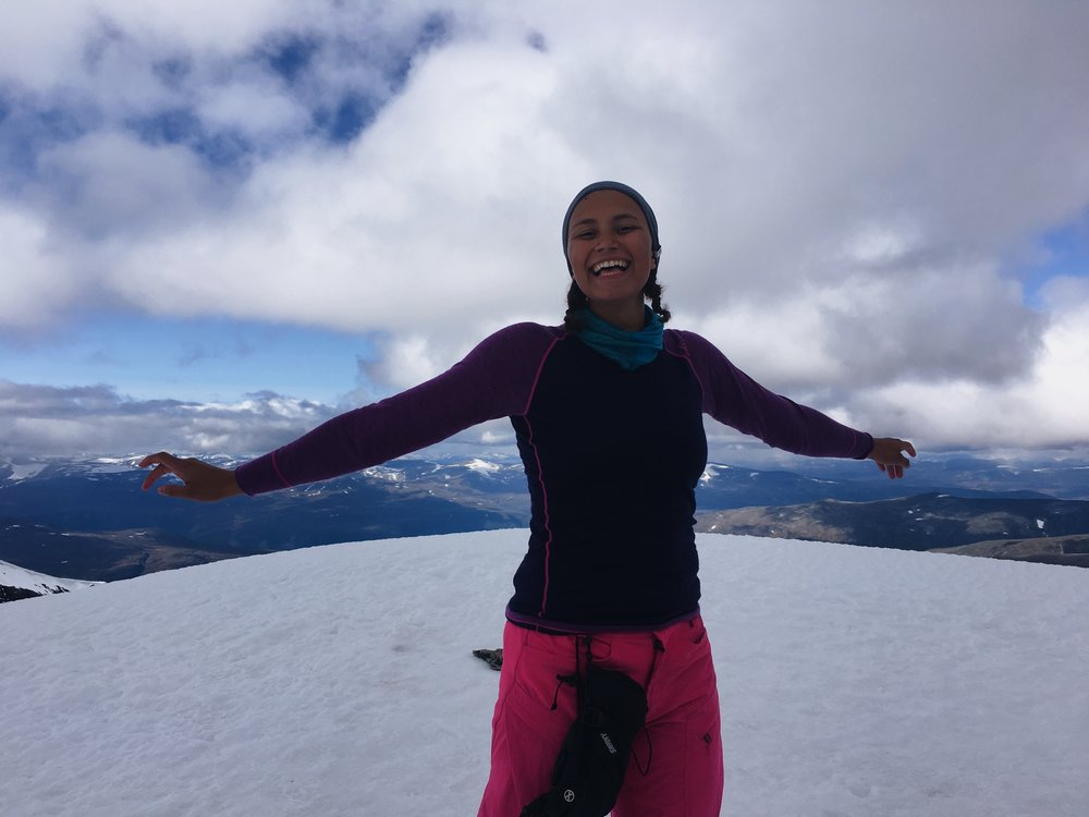Taken on the top of the second highest mountain in Norway!