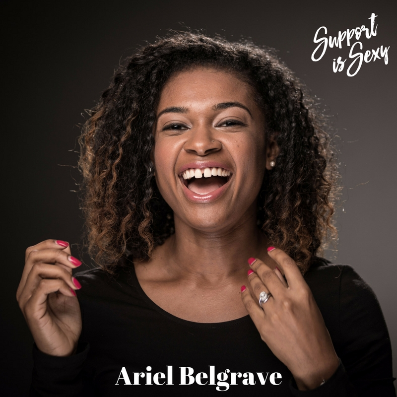 Episode 385 - Ariel Belgrave - Support is Sexy podcast.jpg