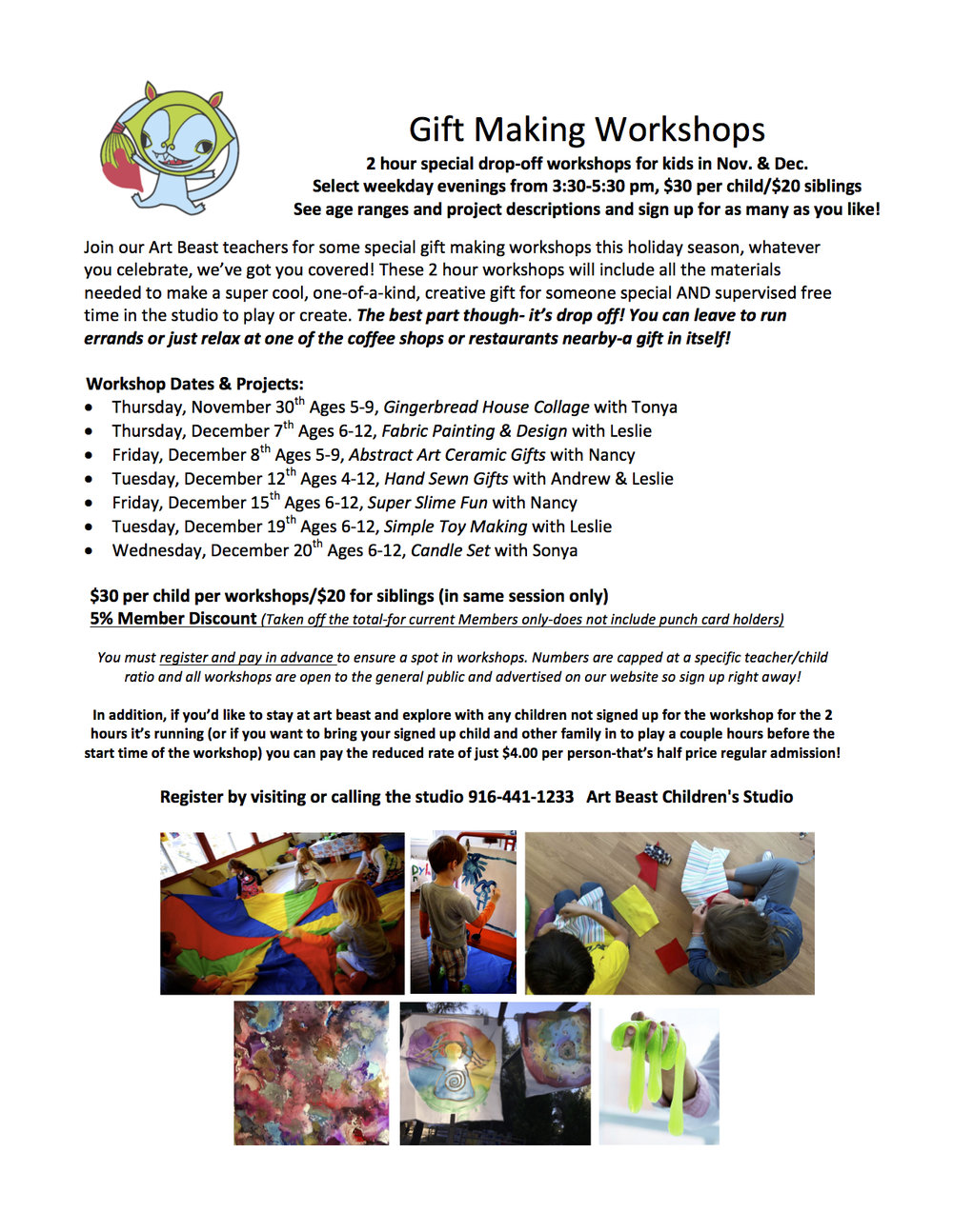 gift making workshop FLYER in December AB 2017.jpg