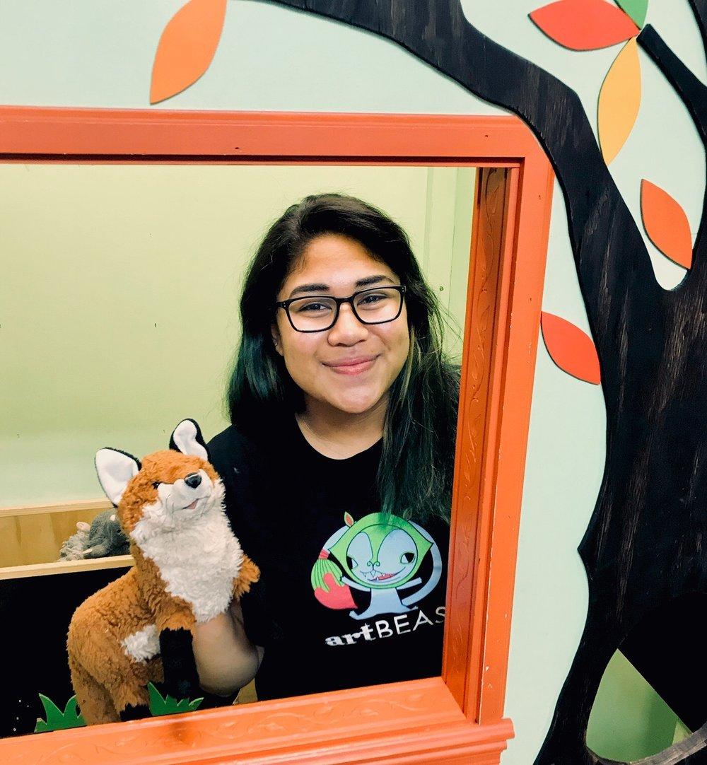 Taryn - Art Beast CoachLibrary GigsWorkshop TeacherCamp Assistant