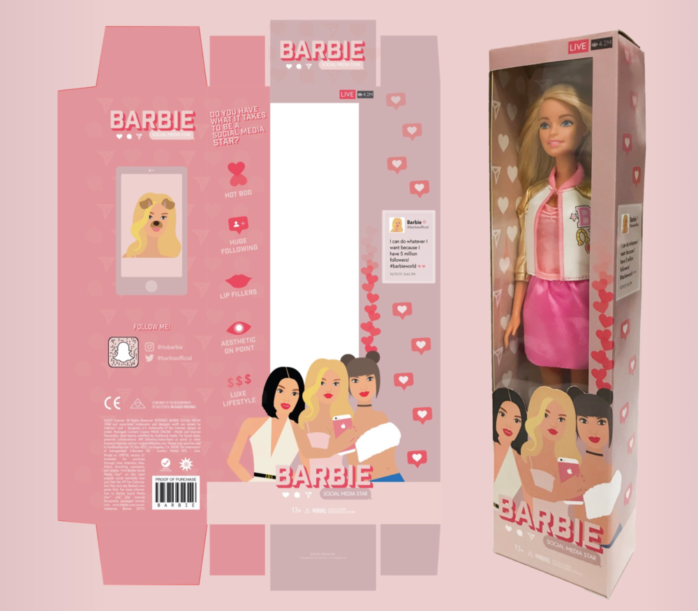 Toy Repackaging Illustrator Project  - Click here to read about this project (project description, mood boards, fonts, before and after, etc.)
