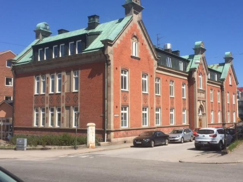 Hus A - Sjukhemmet utmed Kvarngatan.