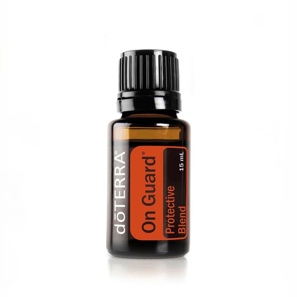 On Guard - Strengthens one's immune systemAdd two to three drops in a veggie capsule or take 1 drop in a glas of water for an immune boost before traveling or during seasonal changes.Diffuse in your home or office during fall and winter months to kill airborne pathogens.Add to water and use as a natural surface cleaner.