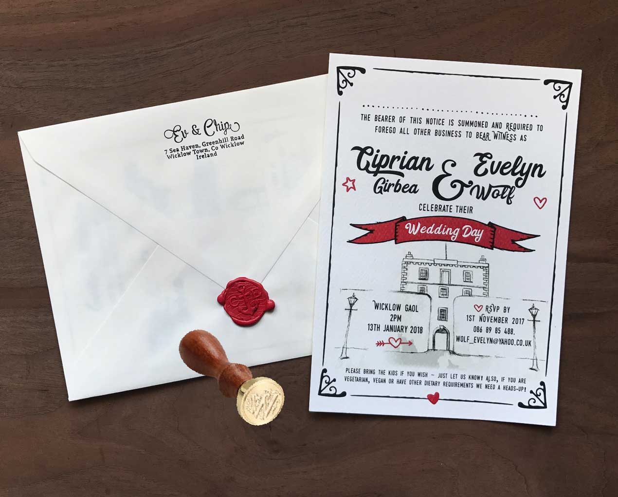 Wedding Invitation — MIRMUR DESIGN
