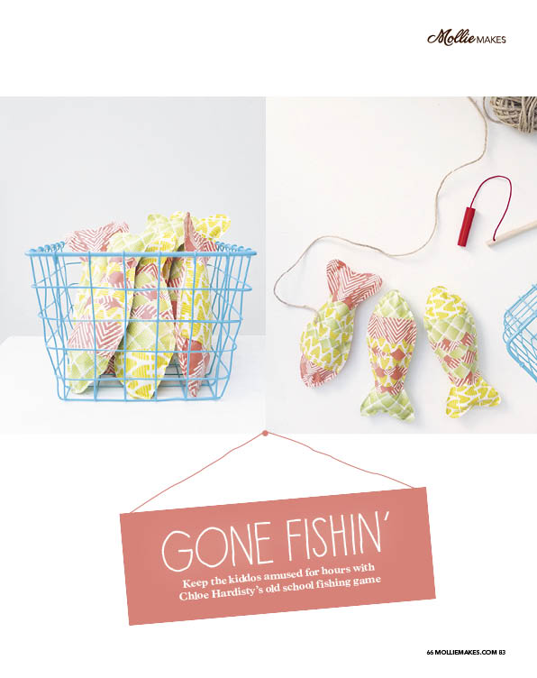 Gone Fishing' Cotton Clara Feature