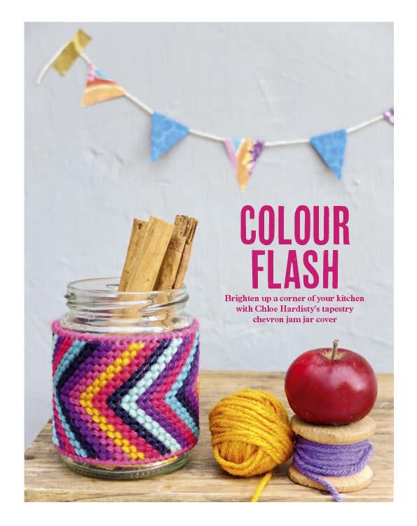 Colour Flash Cotton Clara Feature