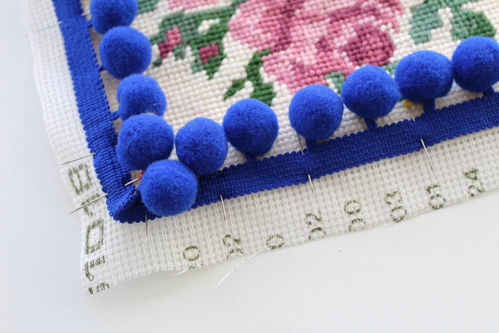 Cotton Clara Tapestry Cushion DIY Craft Tutorial