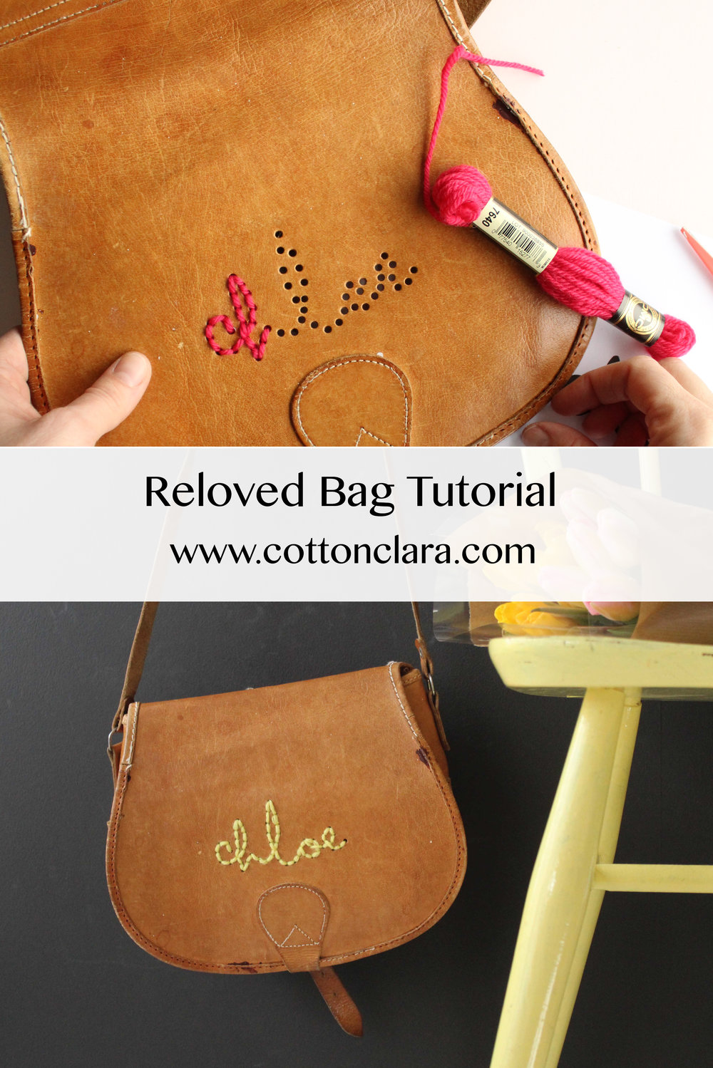 Reloved Bag Project by Cotton Clara