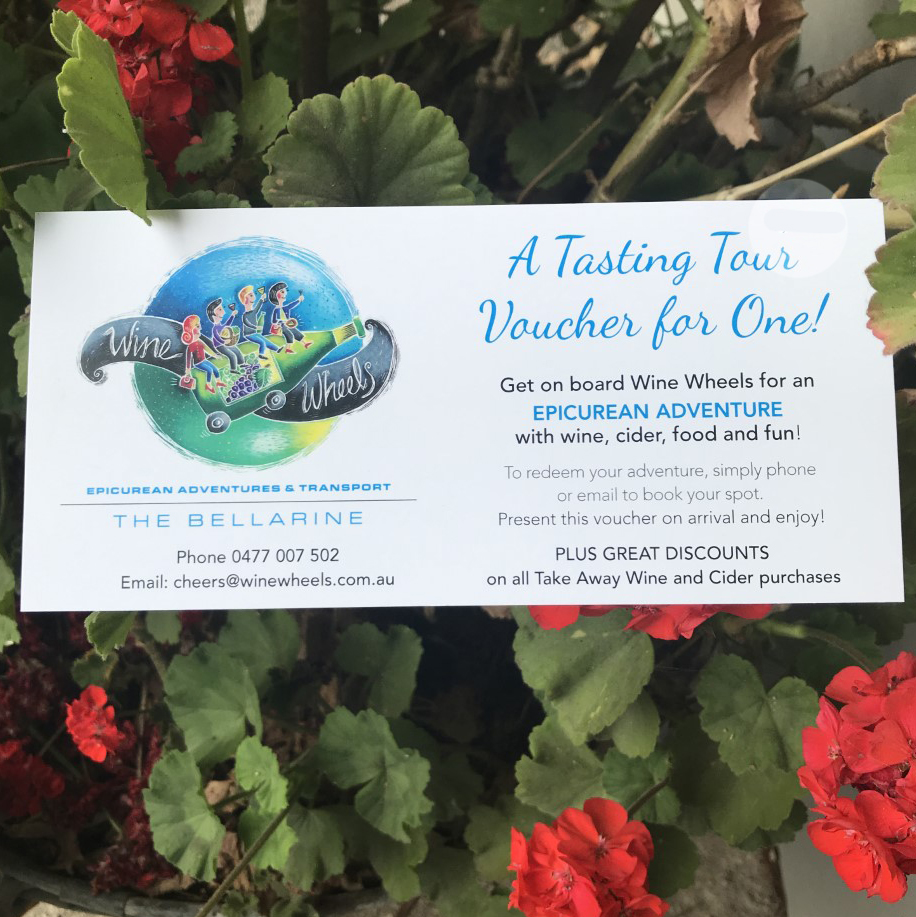 Bellarine Wine Tours GIFT VOUCHER