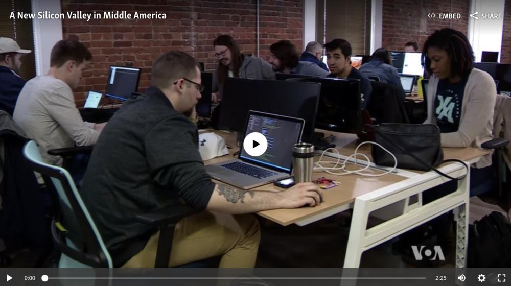 A new Silicon Valley is sprouting in Middle America and Kenzie Academy is developing talent to fuel the tech boom in Indianapolis and the Midwest