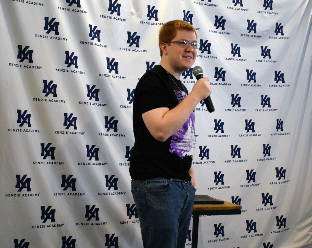 UX Engineering Cohort 1 student, Scott Hager, discusses his experiences at Kenzie.