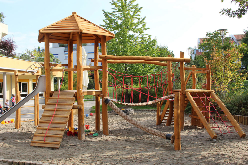 Multi-play timber equipment