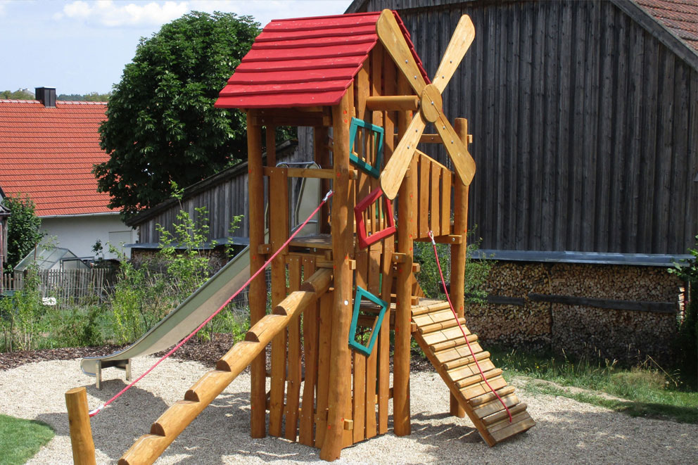 timber playground equipment