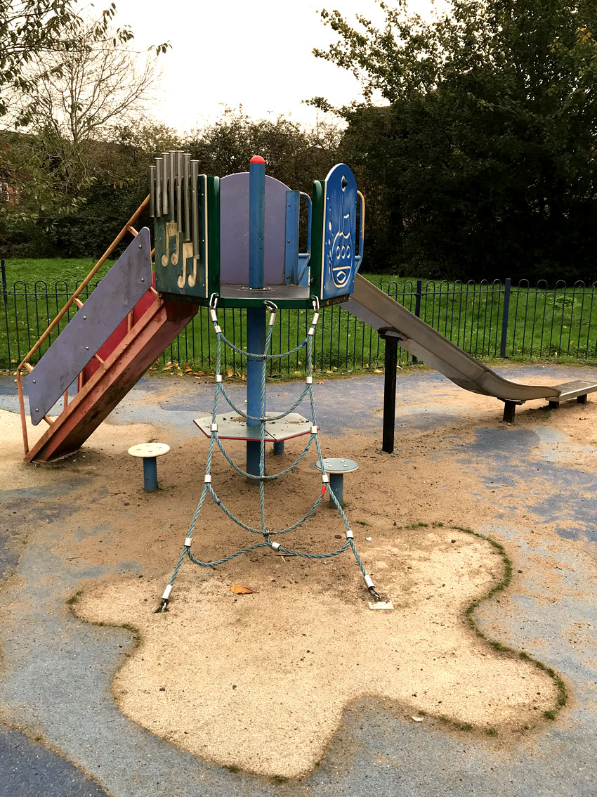 The old playground