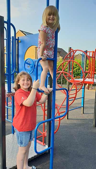 Kingsmead Park new multi-play unit