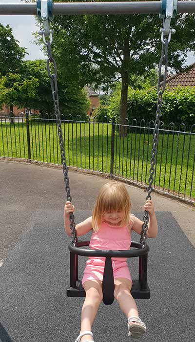 New Toddler Swings