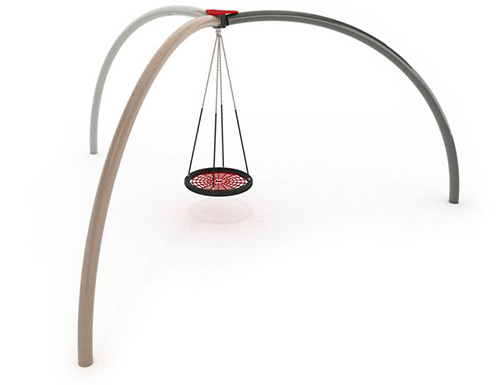 Merga Tripod Basket Swing