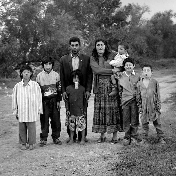 Famille Gorgan, Arles, 1995.