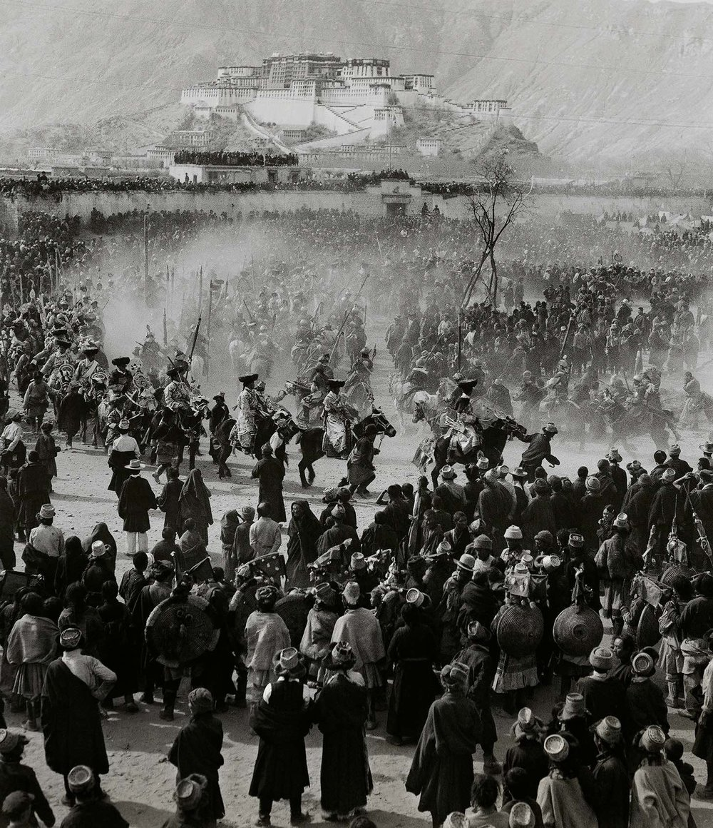 Lan Zhigui, Merry Festivals in Lhasa