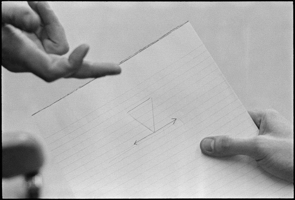 René Burri,  Rank Xerox, USA , 1967.   © René Burri/Magnum Photos. René Burri Foundation courtesy Musée de l'Élysée.