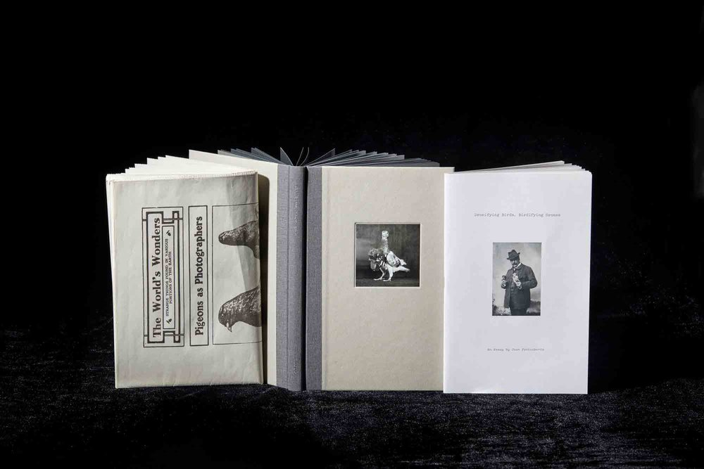 WINNER of the HISTORICAL PHOTO BOOK AWARD   Julius NEUBRONNER,  The Pigeon Photographer,  RORHOF, Bolzano (Italy)