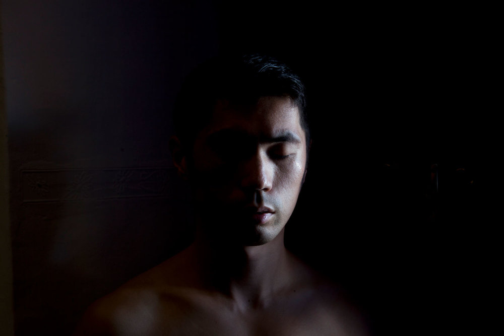 Shen Wei,  Self-portrait (Cusco) , 2013. Archival Pigment Print. © Courtesy of the artist and Flowers Gallery (London/New York).