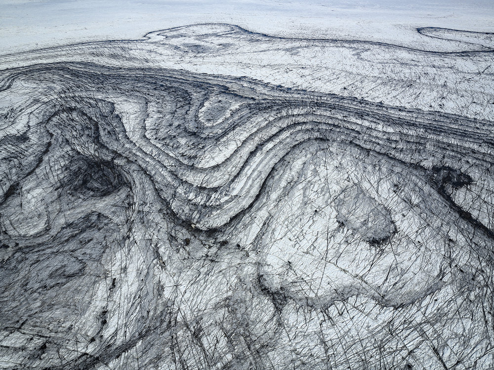 Ash Patterns, Sidujökull 2018