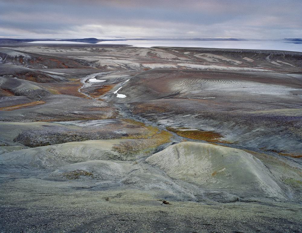 """""""Magnetic Northpole"""", Ellef Ringnes Island, Nunavut 1999"""