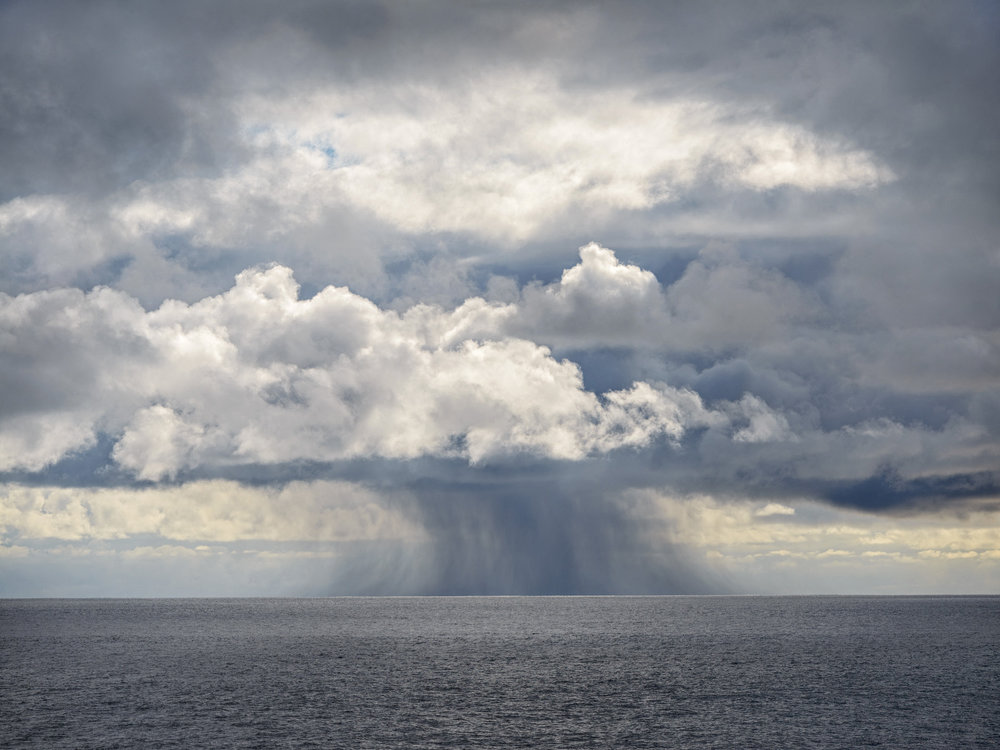 Distant Storm, Scotia Sea, Antarctica 2016