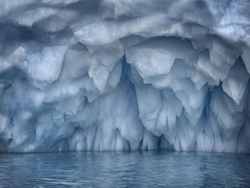 Iceberg, Near Cuverville, Island, Antarctica 2016