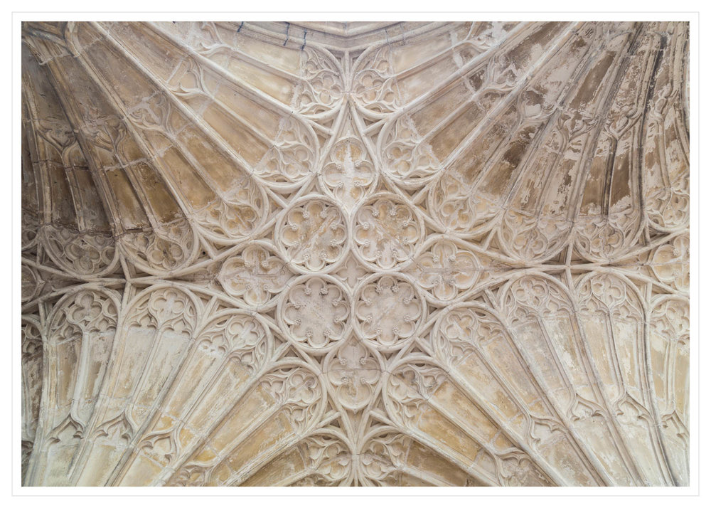 Fan-vaulting detail