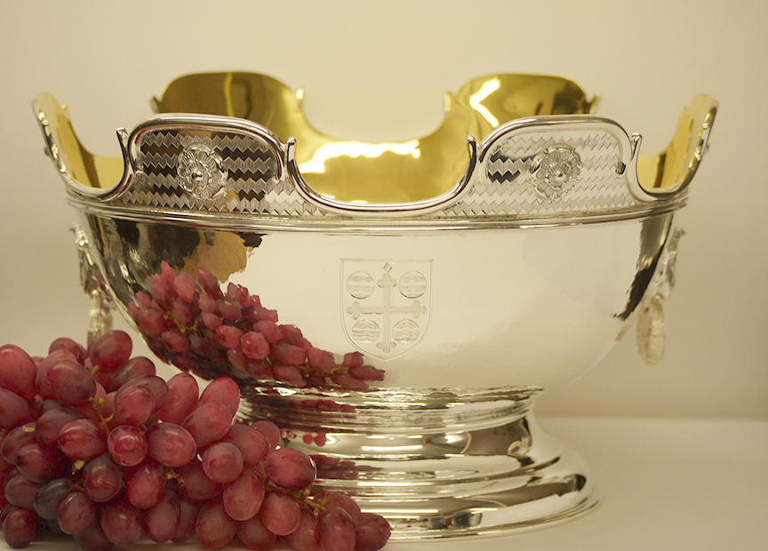 Sterling Silver Montieth Bowl -
