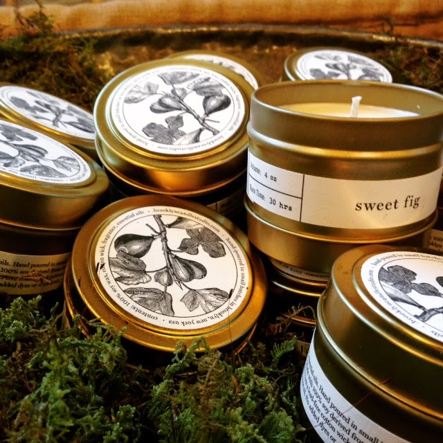 andover florist : les fleurs : brooklyn candle company