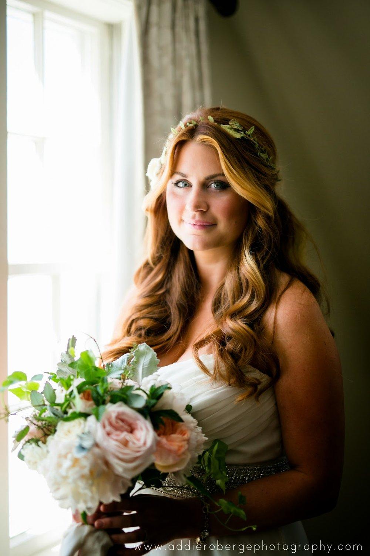 les fleurs : garden roses & peony : romantic bridal bouquet