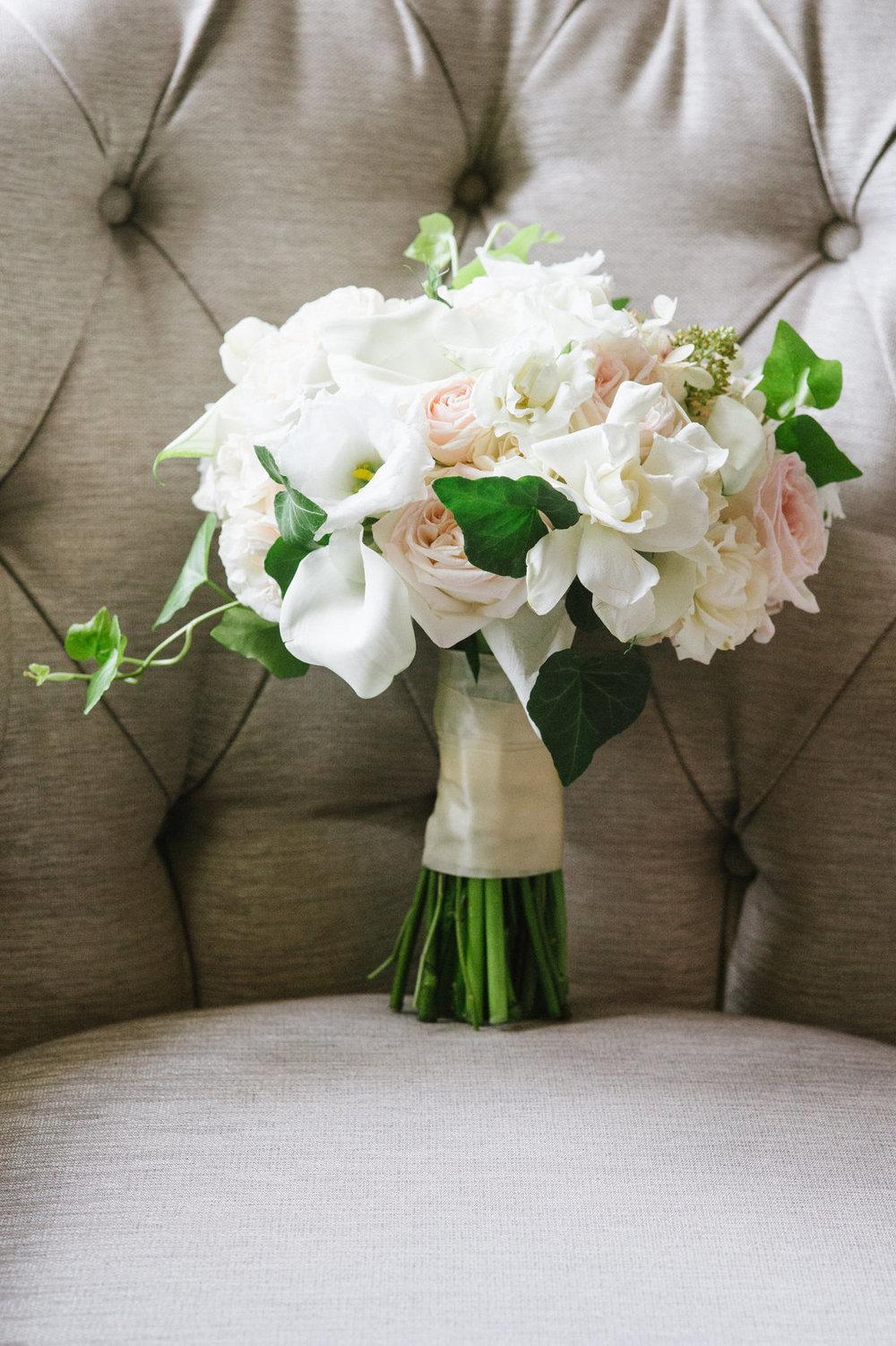 boston public library wedding bouquet les fleurs andover