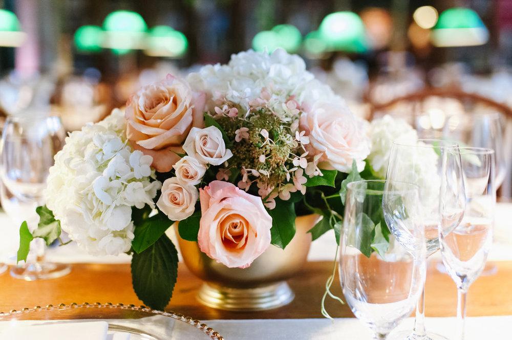 boston public library wedding centerpiece les fleurs andover