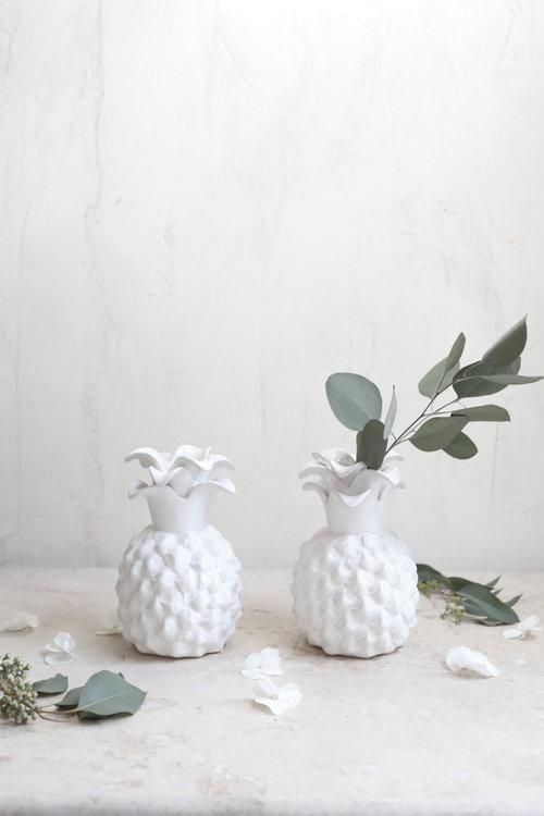 Pineapple Vase Andover Florist Les Fleurs Floral Home Garden Shop